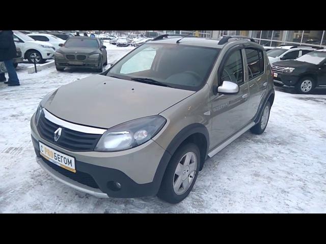 Купить Рено Сандеро Степвей (Renault Sandero Stepway) 2011 г. с пробегом бу в Саратове Элвис
