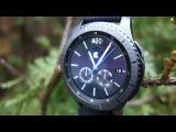 Обзор Samsung Gear S3 на русском