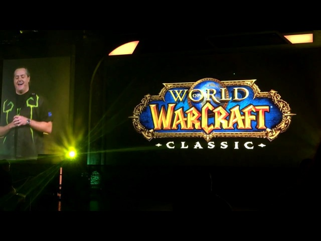 Реакция фанатов на World of Warcraft: Classic | BlizzCon 2017 | Classic WoW Reveal Crowd Reaction | Mythic Hall Crowd Reaction