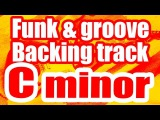 Funk groove backing track in C minor