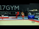 BRAEGGER Pablo SUI 2017 Artistic Worlds Montréal CAN Qualifications Floor Exercise
