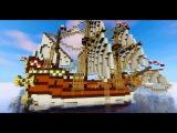 Minecraft Галеон