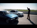 BMW M5 E39 4 9L vs Mercedes Benz E55 W210 AMG 5 5L