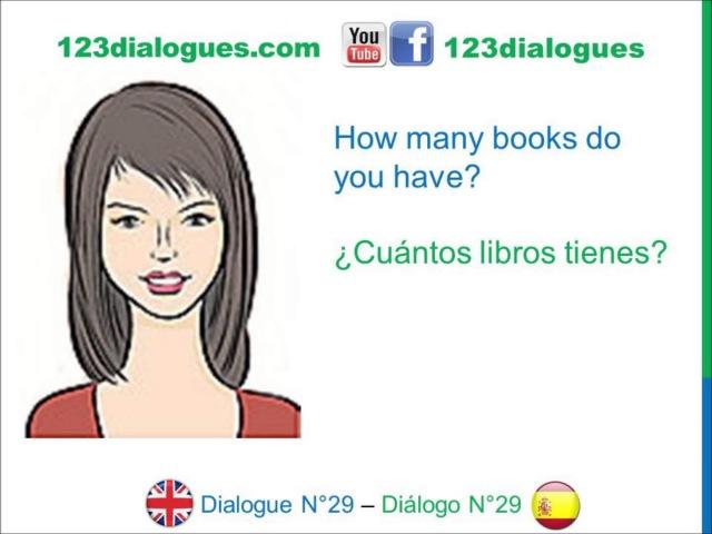 Dialogue 29 - Inglés Spanish - School supplies - Material escolar Útiles escolares