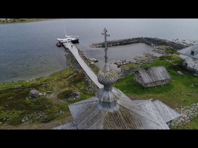 Соловки - июль 2017 года, дрон