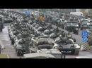 Марш военной техники по улицам Минска - подготовка к параду 3 июля.