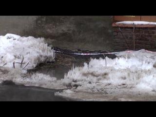 Дом на Ударной 35 в Пензе рушится и течет 6 февраля 2017