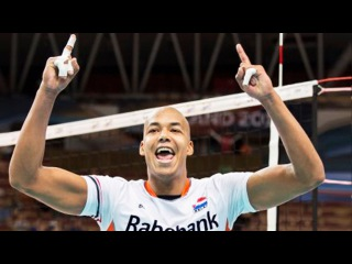TOP 20 Crazy Volleyball Actions ABDEL AZIZ Nimir vs France