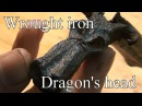 Forging a Dragons Head out of wrought iron