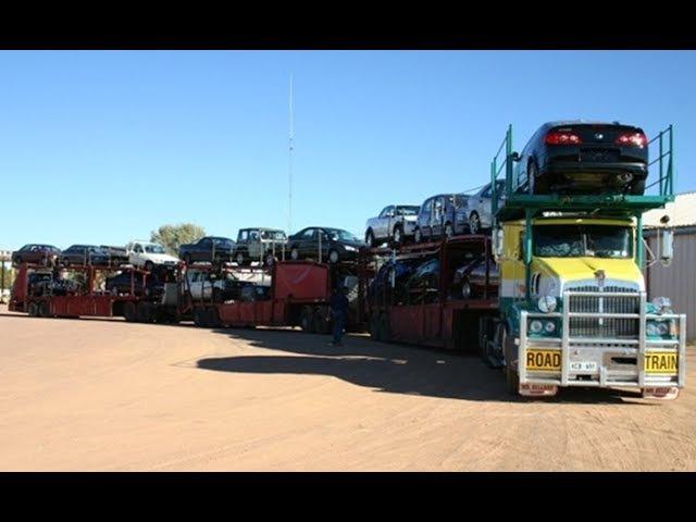 Expertos traileros maniobras impresionant professional truck drivers 5