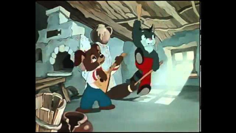 Мультфильм Пирожок, 1956 год