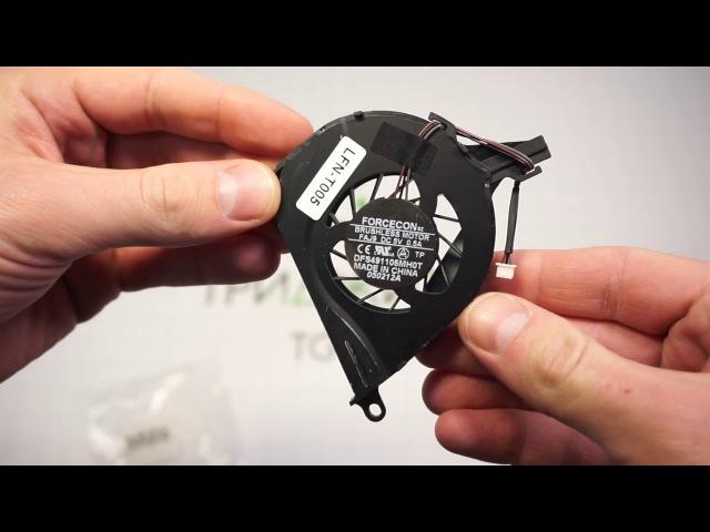 Арт. 003522. Вентилятор для ноутбука Toshiba Satellite L650, L650D, L655, L755, (3-pin) Series😇