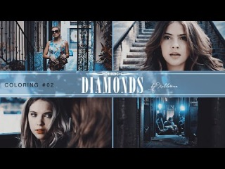 ● Diamonds || Sony Vegas Coloring