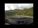 Driving the Great St. Bernard Pass (Italian Job opening scene) Ferrari F355 355 F1 GTS - Matt Munro