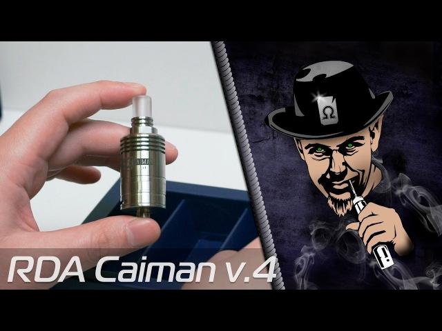 Caiman RDA v4 Вкусная Табачная Дрипка