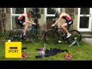 Rio 2016 Olympics Non Stanford and Vicky Holland's transition challenge BBC Sport