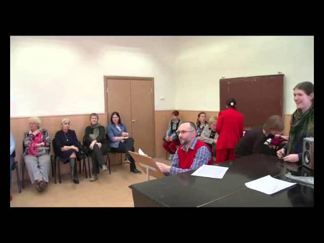 Мастер-класс Сашо Татарчевски (хоровое дирижирование)