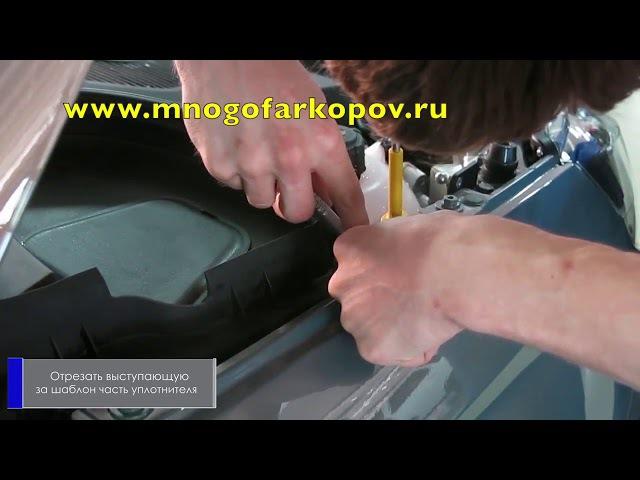 Амортизатор (упор) капота на Lada Vesta A.ST.6007.1 (обзор, установка)