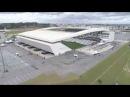 Sobrevoando a Arena Corinthians! Logo mais tem o jogo da taça! 🏆 Corinthians x Atletico-MG