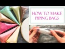 How to Make Piping Bags for Icing