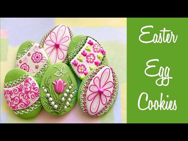Easter Egg Cookies.🌷🌷🌷