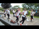 Cardiff Morris dance Y Caseg Eira in the National Botanic Garden of Wales 29th June 2014