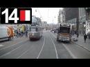 🚋 GVB Amsterdam Tramlijn 14 Cabinerit Slotermeer - Flevopark Driver's view 2017