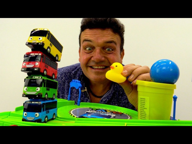 Tayo el Pequeño Autobús🚌 TAYO español🚌 PLAY Doh. Colores para niños. Vídeos de juguetes para niños
