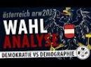 Wer hat die SPÖ gerettet Wahlanalyse Österreich NRW2017