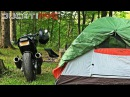 Moto Camping in the CATSKILLS! SETTTING UP TENT and THINGS v452
