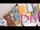 Пальчиковый театр из фетра для деток / Развивающая книга сказок Developing book