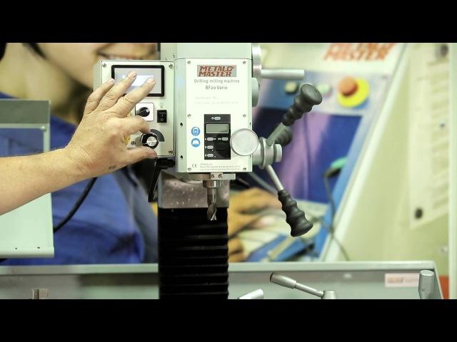 Настольный токарно фрезерный станок по металлу Metal Master MML 280x700M