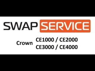 Crown CE1000, CE2000, CE3000, CE4000 усилитель мощности