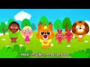 Head Shoulders Knees and Toes | Cartoon Song for Children | Nursery Rhyme for Kids by BooBoo