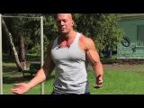 Пресс, плечи, трицепс тренировка на спортплощадке  Денис Семенихин