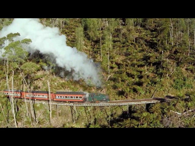 West Coast Wilderness Railway - History That Moves You!