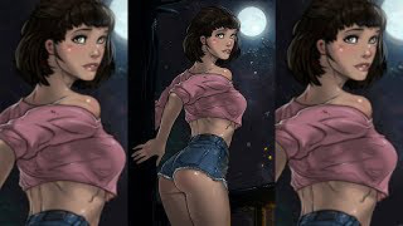 Секси девушка на новой карте в Пятнице 13!