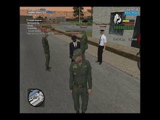 Қазақша [CRMP] Армиялық өмір #2 В-б алдым