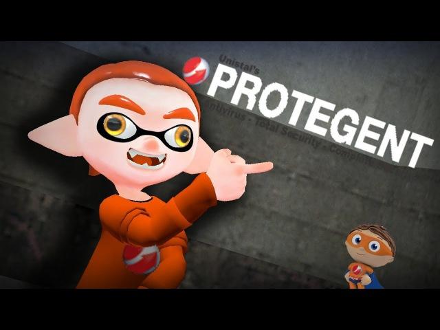 Protegent Antivirus but with Inklings [GMOD Splatoon]