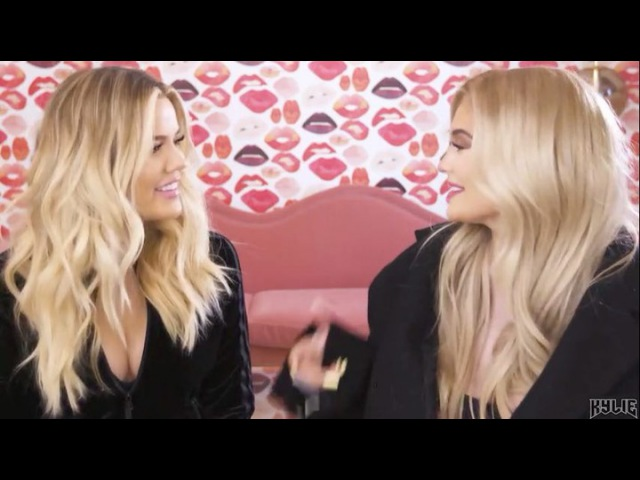 New YouTube Video is Live on the Kylie Cosmetics channel on my app! Watch me and @khloekardashian try on all her @kyliecosmetiics collaborations 💋KokoKollection