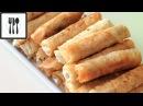 Сигара бёрек с сыром Рецепт турецких пирожков с творогом Вегетарианские рецеп