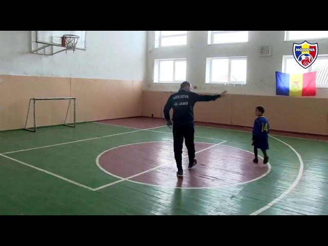Proiectul Naționala în orașul tău, master-class în Măgdăcești, 16.12.2017