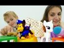 Видео #ИгрыДляДетей 🍨Открываем КАФЕ с Аней и Юлей! Игрушки #ЛитлПони #ПетШоп  и Щ...