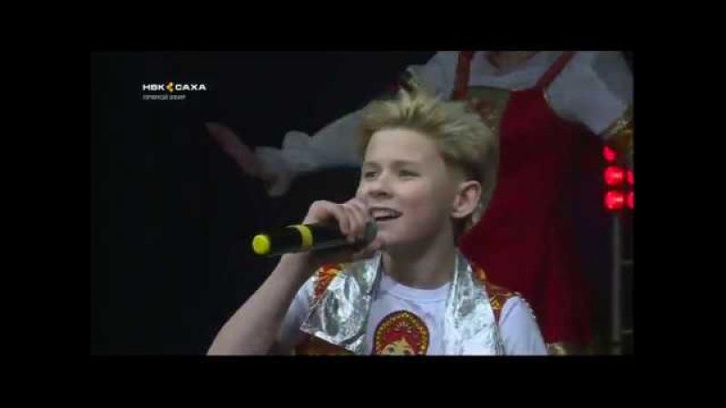 Ранэль Богданов - Выйду на улицу (концерт в Якутске)
