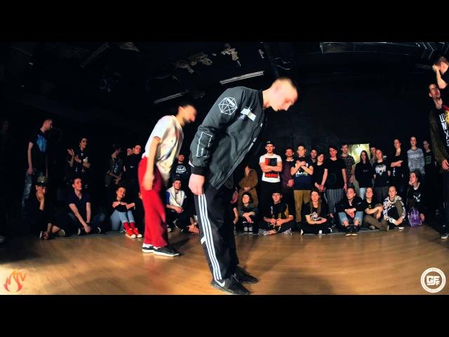 GFF Battle All Styles 2x2 1/2 Kadet Dam`en (Win) vs. Ronin Dixon