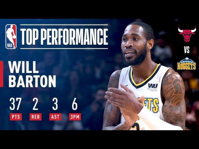 Will Barton Makes Game-Winner, Scores Career-High 37 Points | November 30, 2017