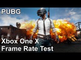 PlayerUnknowns Battlegrounds Xbox One X Frame Rate Test (Early Access)