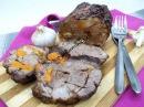 Вкусная и сочная домашняя буженина из свинины в духовке
