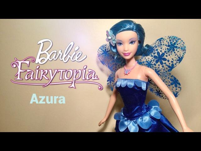 Barbie Fairytopia Azura doll