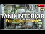How to build, paint and weather a tank interior! MiniArt's 135 T-60